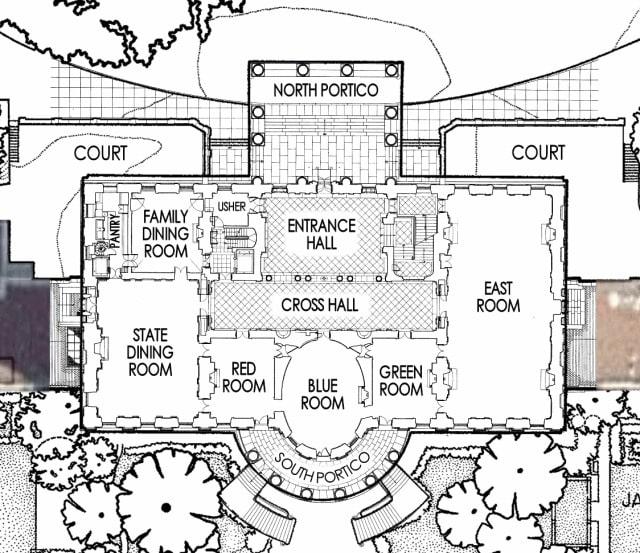 1992 white house floor1 little mouse press