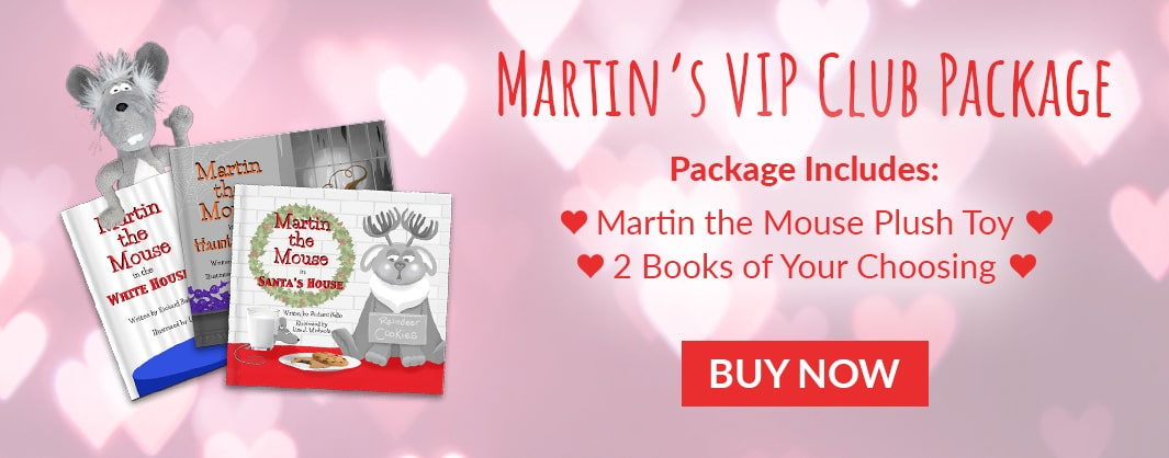 Buy a Martin the Mouse VIP Club Package