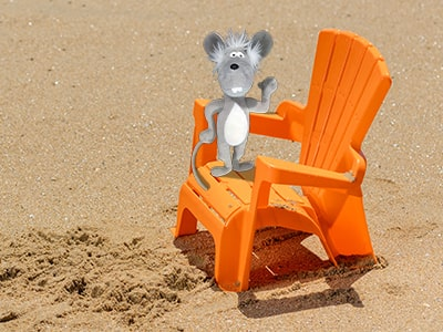 Staying Cool in the Summer Heat - Martin the Mouse Children's Literature - Complete Kids Book Set