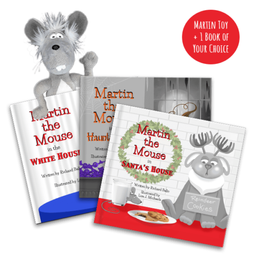 Martin the Mouse Book Club Starter Package