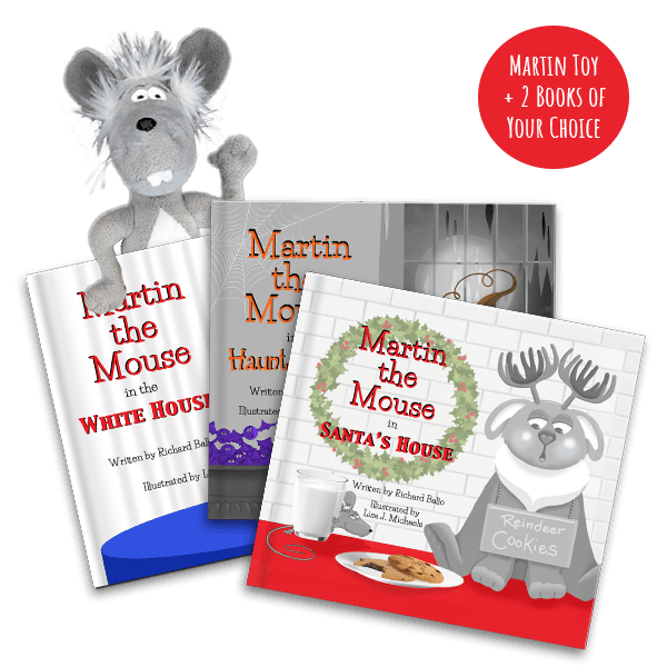 Martin the Mouse Book Club VIP Package