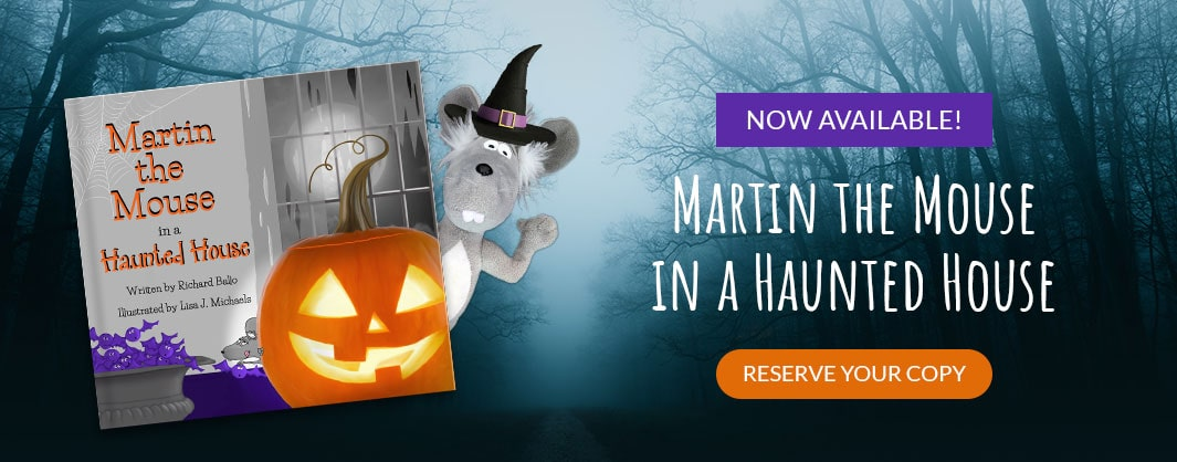 Martin the Mouse in a Haunted House - Sign Up to Order