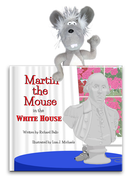 Martin the Mouse Starter Kit Martin Toy and Martin the Mouse in Santa's House Book
