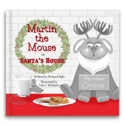 Martin the Mouse in Santa's House Children's Book