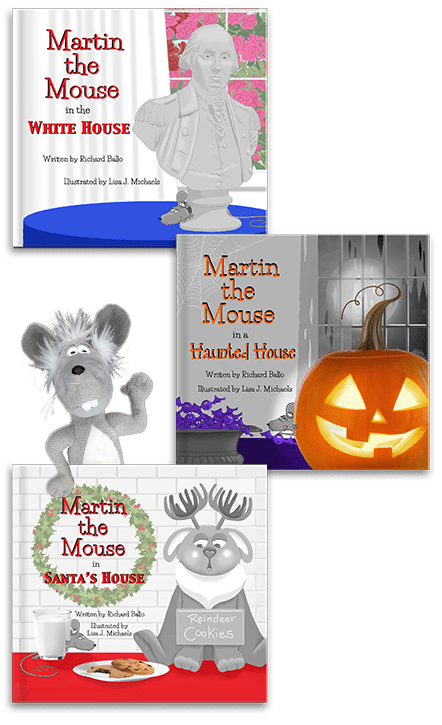 Martin the Mouse Book Club Packages